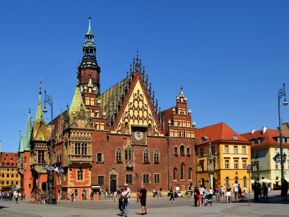 A WEEKEND IN THE WROCLAW
